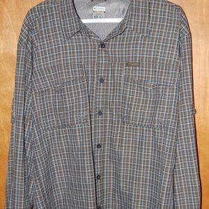 Mens Columbia Titanium button down shirt